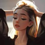 Рисунок профиля (Валерия Поташкина)