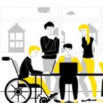 Логотип группы (СКП-СДМZ-11 Сопровождение социализации лиц с ОВЗ в сфере образования 19-20)