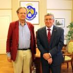 Встреча г-на М. Плодерера с ректором ВГСПУ проф. Сергеевым Н.К.